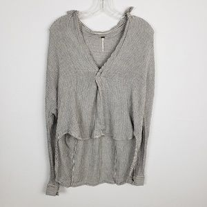 Free People | high low thermal top Size Small